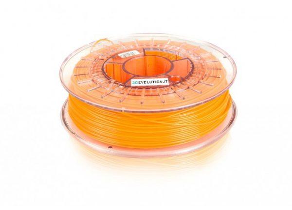PLA arancio FLUO (0,7kg. Ø 1,75mm.)