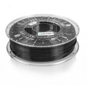 PLA nero (0,7kg. Ø 1,75mm.)