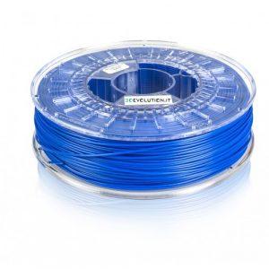 PLA blu (0,7kg. Ø 1,75mm.)