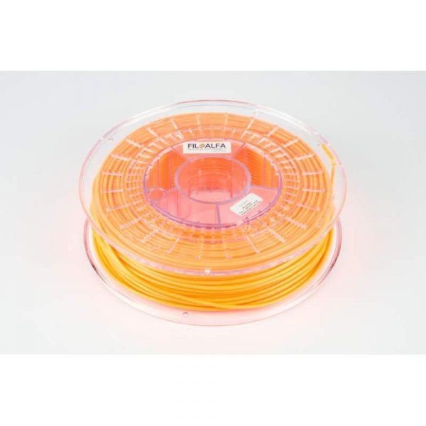 PLA arancio FLUO (0,7kg. Ø 2,85mm.)