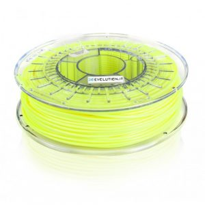 PLA giallo fluo (0,7kg. Ø 1,75mm.)